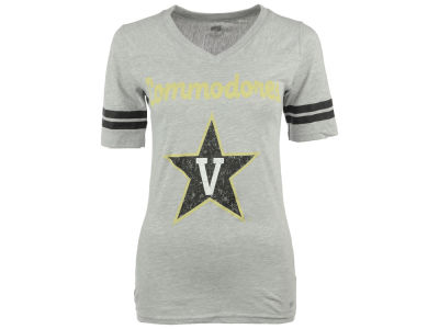 Vanderbilt Commodores NCAA Women's LP Football V-Neck T-Shirt