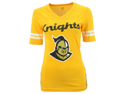 University of Central Florida Knights NCAA Women's LP Football V-Neck T-Shirt