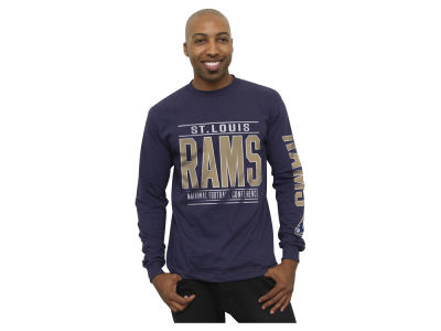 St. Louis Rams Authentic NFL Apparel NFL Halfback Long Sleeve T-Shirt