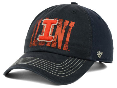 Illinois Fighting Illini '47 NCAA Brack '47 CLEAN UP Cap
