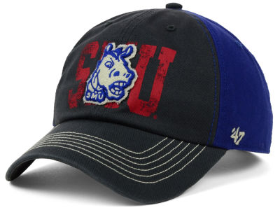 Southern Methodist Mustangs '47 NCAA Brack '47 CLEAN UP Cap