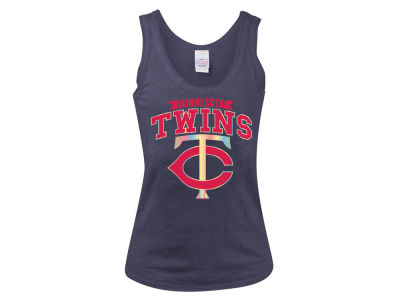 Minnesota Twins MLB Women's Iridescent Foil Tank