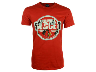 Louisville Cardinals Blue 84 NCAA Mens New Stadium Soccer T-Shirt