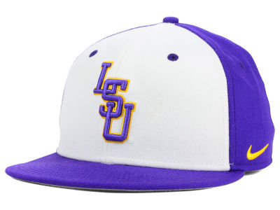 LSU Tigers Nike NCAA Wool True College Fitted Cap