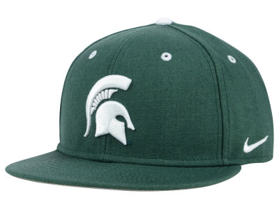 Michigan State Spartans Nike NCAA Wool True College Fitted Cap