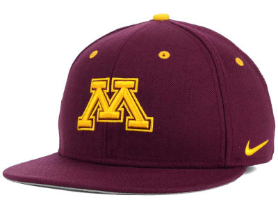 Minnesota Golden Gophers Nike NCAA Wool True College Fitted Cap