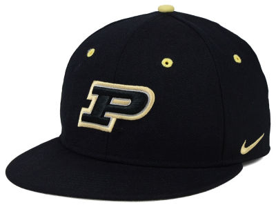 Purdue Boilermakers Nike NCAA Wool True College Fitted Cap