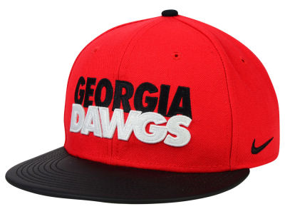 Georgia Bulldogs Nike NCAA True Motto Snapback Cap