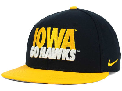 Iowa Hawkeyes Nike NCAA True Motto Snapback Cap