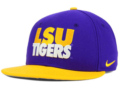 LSU Tigers Nike NCAA True Motto Snapback Cap