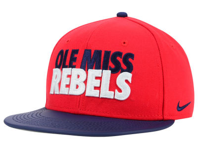Ole Miss Rebels Nike NCAA True Motto Snapback Cap