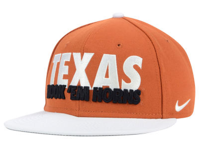 Texas Longhorns Nike NCAA True Motto Snapback Cap