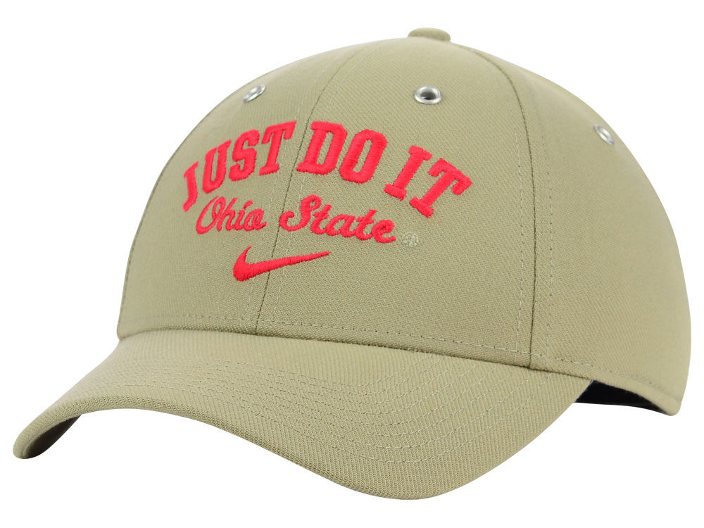 best authentic 7ac68 0447e ... norway ohio state buckeyes nike ncaa legacy 91 swoosh flex arch just do  it cap 5b6d9