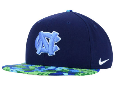 North Carolina Tar Heels Nike NCAA True Floral Bill Snapback Cap