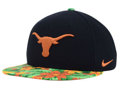 Texas Longhorns Nike NCAA True Floral Bill Snapback Cap
