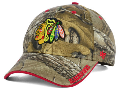 Chicago Blackhawks '47 NHL Real Tree Frost Cap