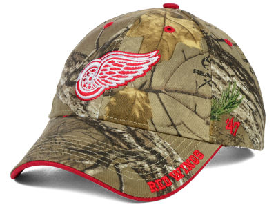 Detroit Red Wings '47 NHL Real Tree Frost Cap