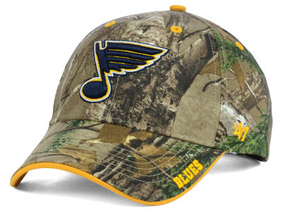 St. Louis Blues '47 NHL Real Tree Frost Cap