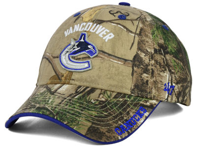 Vancouver Canucks '47 NHL Real Tree Frost Cap