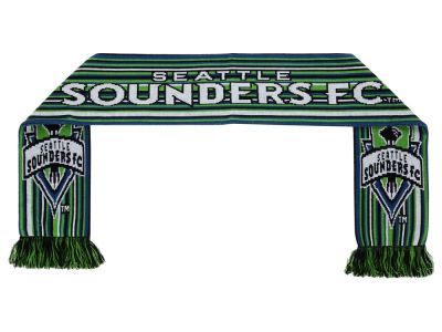 Seattle Sounders FC MLS Horizontal Stripe Scarf