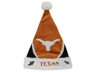 Texas Longhorns Color Block Santa Hat