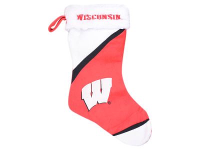 Wisconsin Badgers Color Block Stocking