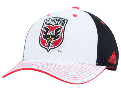 DC United adidas MLS 2015 Basic White Adjustable Cap
