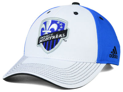 Montreal Impact adidas MLS 2015 Basic White Adjustable Cap
