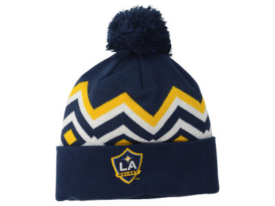 LA Galaxy adidas MLS 2015 Team Cuff Pom Knit