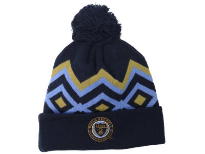 Philadelphia Union adidas MLS 2015 Team Cuff Pom Knit