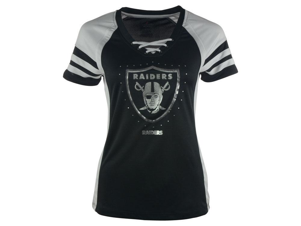 Oakland Raiders NFL Women s Draft Me VII Top  0d875ededd