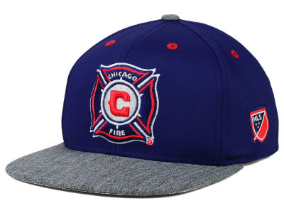 Chicago Fire adidas MLS 2015 Youth Team Snapback Cap