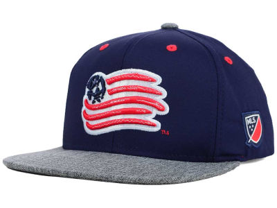 New England Revolution adidas MLS 2015 Youth Team Snapback Cap