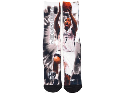 Brooklyn Nets Joe Johnson For Bare Feet NBA Tie-Dye Crew 308S Sock