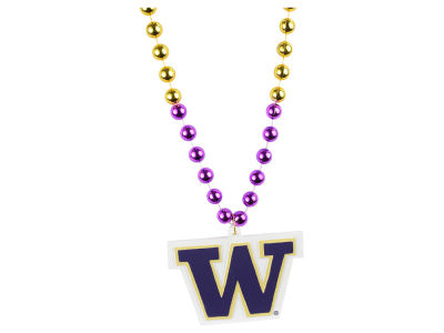 Washington Huskies Team Logo Beads-Rico