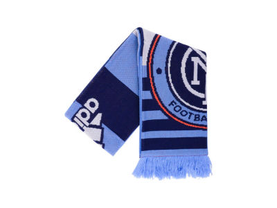 New York City FC Jacquard Scarf Stripe