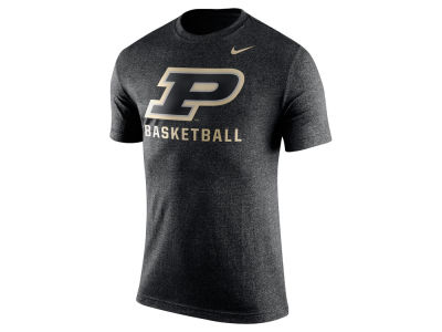 Purdue Boilermakers Nike NCAA Men's Logo Basketball T-Shirt