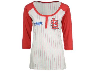 St. Louis Cardinals 5th & Ocean MLB Women's LE Opening Night Raglan Shirt