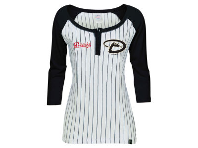 Arizona Diamondbacks 5th & Ocean MLB Women's LE Opening Night Raglan Shirt
