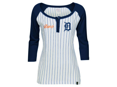 Detroit Tigers 5th & Ocean MLB Women's LE Opening Night Raglan Shirt