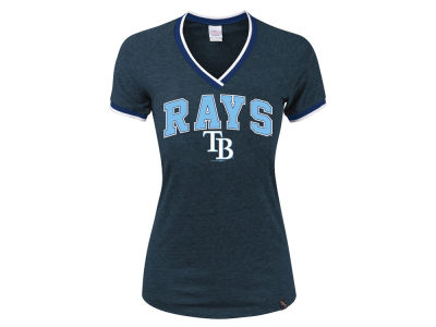 Tampa Bay Rays 5th & Ocean MLB Women's LE Opening Night Triblend T-Shirt