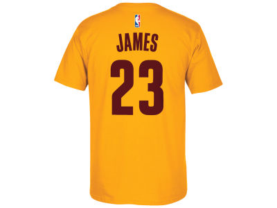 Cleveland Cavaliers LeBron James adidas NBA Men's Player T-Shirt