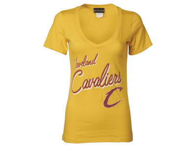 Cleveland Cavaliers LeBron James 5th & Ocean NBA Women's James Player T-Shirt