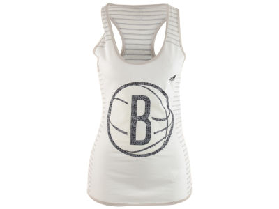 Brooklyn Nets adidas NBA Women's Lace Up Tank