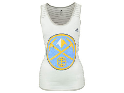 Denver Nuggets adidas NBA Women's Lace Up Tank