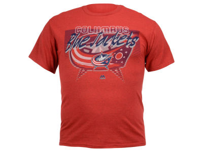 Columbus Blue Jackets NHL Men's Five on Five T-Shirt