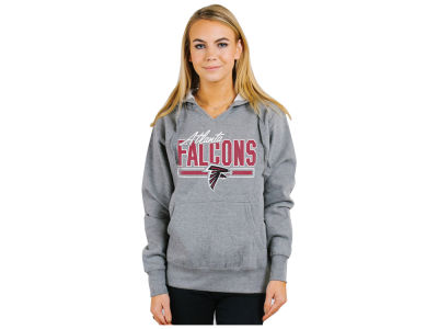 Atlanta Falcons Authentic NFL Apparel NFL Women's Holiday Logo Hoodie