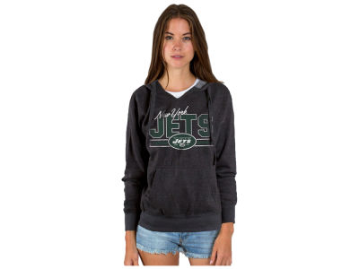 New York Jets Authentic NFL Apparel NFL Women's Holiday Logo Hoodie