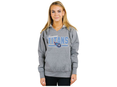 Tennessee Titans Authentic NFL Apparel NFL Women's Holiday Logo Hoodie