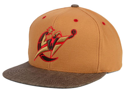 Washington Wizards Mitchell and Ness NBA Winter Canvas Snapback Cap